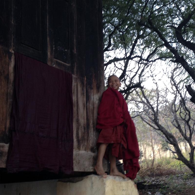 niño-budista